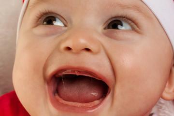 Gesicht eines kleinen Babys