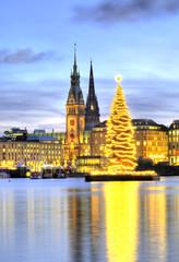 Hamburg Weihnachten Binnenalster 2