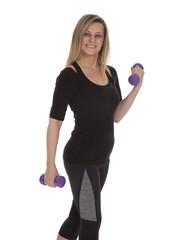 Mature Fitness Woman