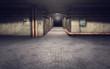 Industrial basement background