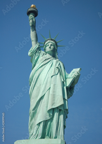 Statute of Liberty on Ellis Island in New York