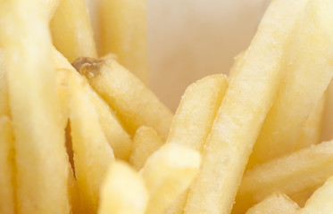 French fries macro shot