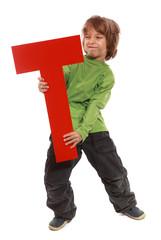 "Letter ""T"" boy"