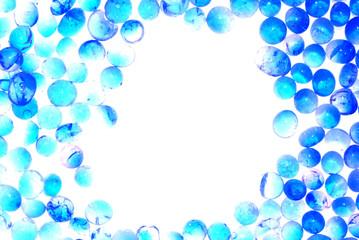 blue silica gel desiccant frame
