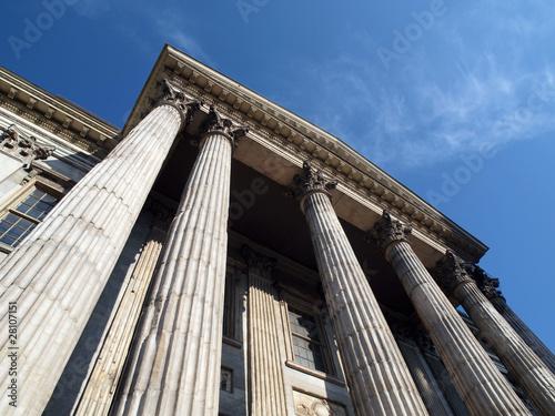 Leinwanddruck Bild First Bank Building