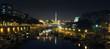 Place de la Bastille de nuit - Paris