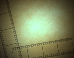 Old film frame background