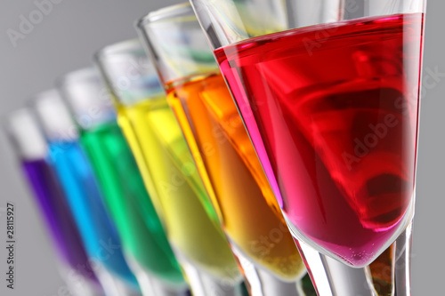 colorfull cocktails