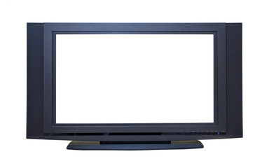 Modern Widescreen 3-D HDTV Monitor