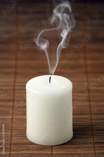 Gone out candle