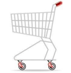 Carrello della Spesa-Shopping Cart-Vector