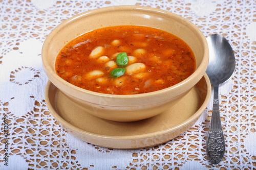 zupa fasolowa - 28120979