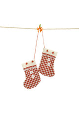 Christmas clothesline