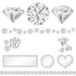 ダイヤモンド 装飾
