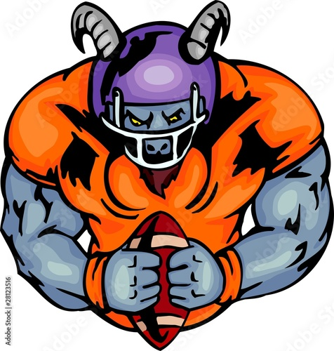 American Football Players Clipart