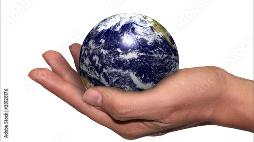 World in hand loop - available photo hi-res n. 28058290