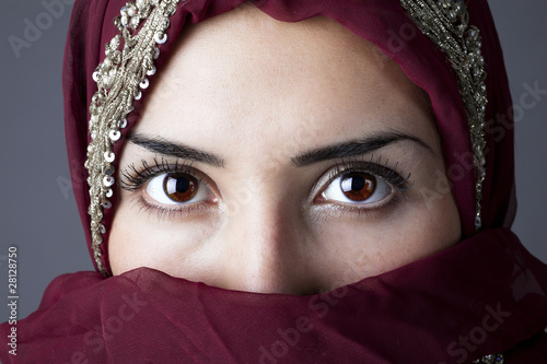Fototapeten,isi,headscarf,muslim,arabian