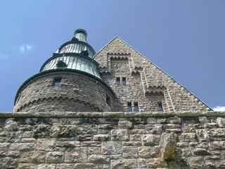 Schloss  Turm  Giebel