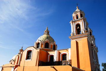 Santuario de los remedios, Cholula, Puebla.