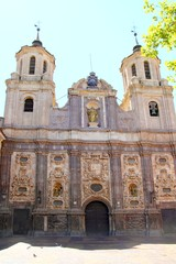 santa isabel church Zaragoza Spain outdoor facade