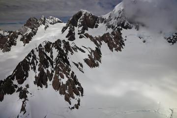 Vue aérienne - sommet Mont Cook 9
