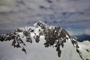 Vue aérienne - sommet Mont Cook 10