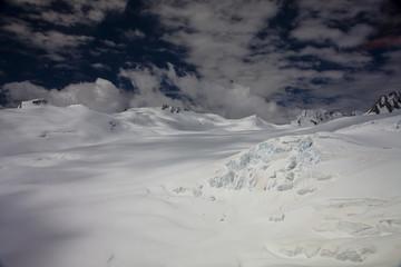 Vue aérienne - sommet Mont Cook 12
