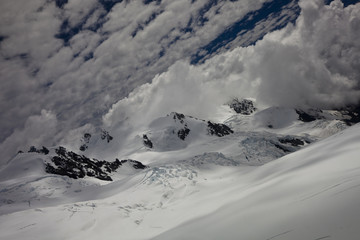 Vue aérienne - sommet Mont Cook 13