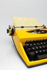 La vecchia macchina per scrivere