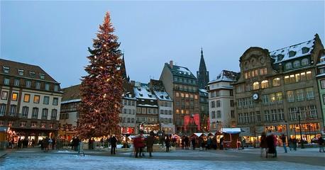 Le marché de Noël à Strasbourg - Christkindelsmärik