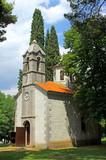 Small church in Podgorica, Montenegro poster