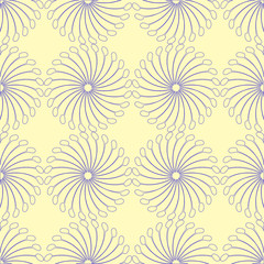 interesting blue seamless pattern