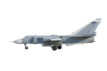 Su-24 Fencer on take off