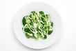 茹でたブロッコリーとマヨネーズのサラダ