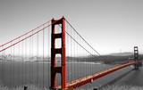 Fototapeta architektura - czerwony - Most