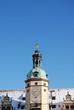 Altes Rathaus mit Schnee Leipzig