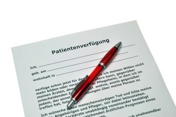 Patientenverfügung  #101204-032