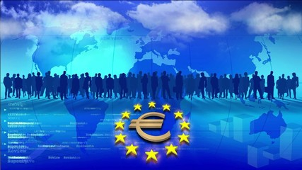 Video Motion Background: The Euro
