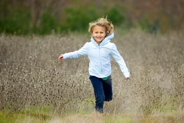 Running at the camera
