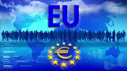 Video Motion Background: European Union