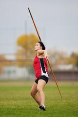 Javelin athlete