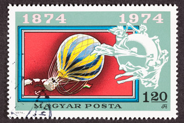 Balloon Postage Stamp Universal Postal Union UPU Commemoration