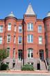 Richardsonian Brick Row Homes Capitol Hill, Washington DC