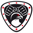 MARTIAL ARTS ORIGINAL SIMBOL EMBLEM.Vector.