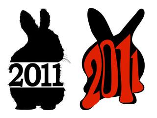 2011 rabbit symbols