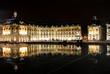 Lumières sur la Place de la Bourse de Bordeaux