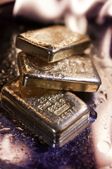 goldbars  and  flame