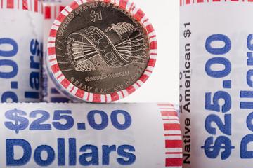 Metal dollars