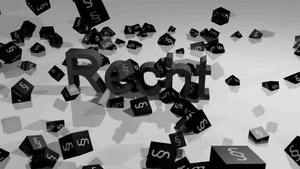 Recht und Realität - schwarz