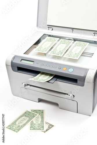 Printer and money